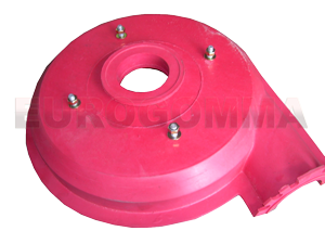 Volute liners and throat bushes Natural rubber