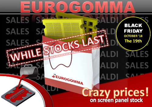 With EUROGOMMA black Friday comes one month earlier!