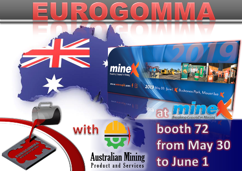 EUROGOMMA announces our participation to Minex Mount Isa