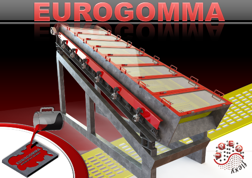 NEW! SUPERflexy flip flow screens by EUROGOMMA